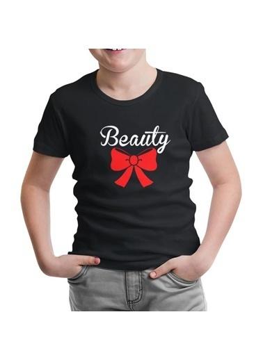Lord Tshirt Beauty And The Beast - Beauty  Siyah Çocuk Tshirt Siyah